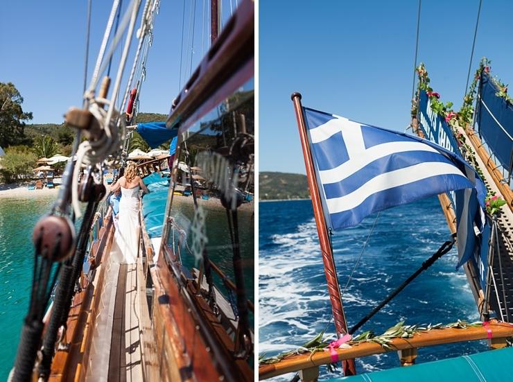 boottocht trouwen in griekenland