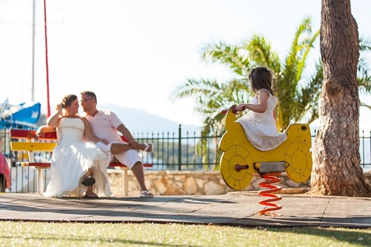 speeltuin bruidspaar