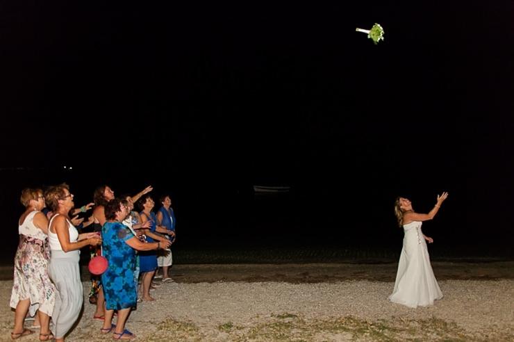 boeket gooien bruiloft griekenland