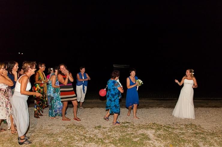 boeket gevangen bruiloft griekenland