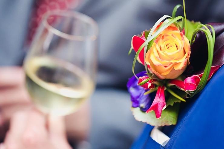 corsage wijn