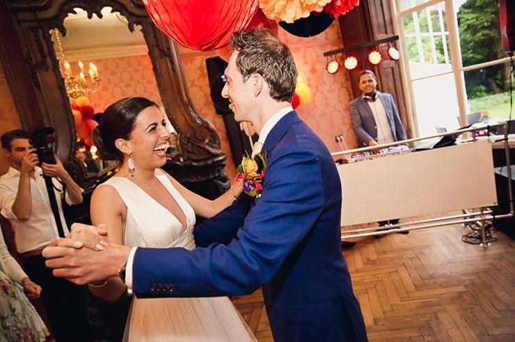 bruidspaar danst middelburg