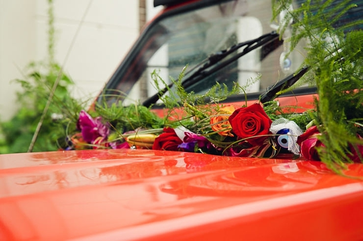 trouwvervoer rode eend