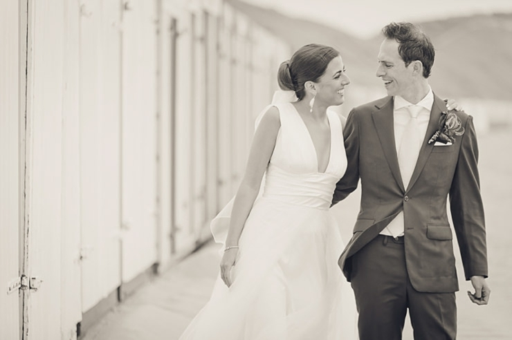 bruidspaar groen trouwfotografie middelburg