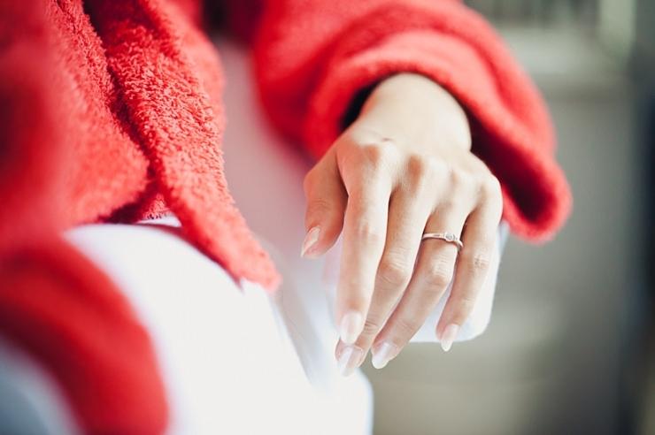 voorbereiding bruid manicure