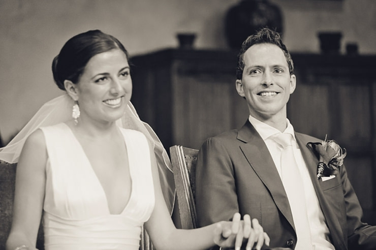 bruidspaar ceremonie trouwfotograaf middelburg