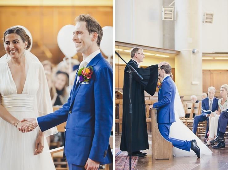 zegening kerk bruidspaar
