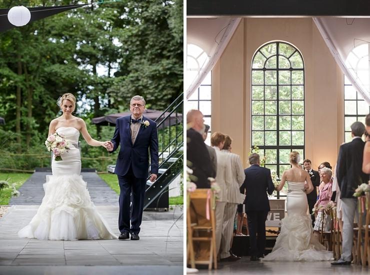 bruid weggeven explore muiden
