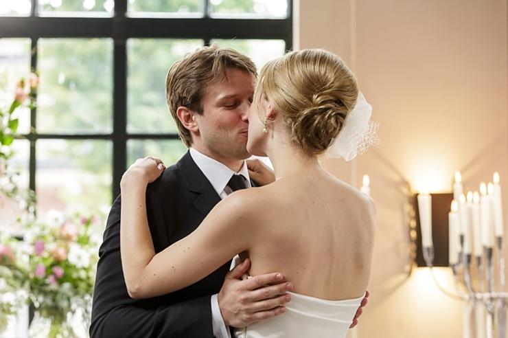 kus bruidspaar