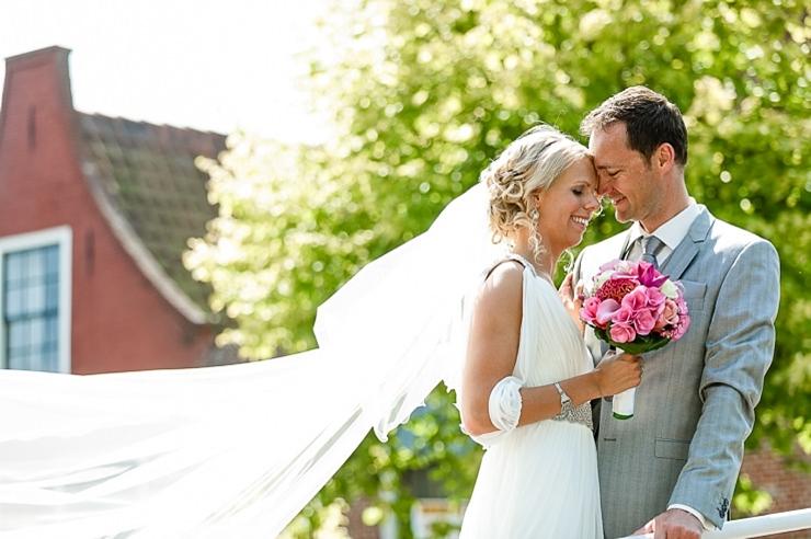 bruidsfotografie leiden bruidspaar