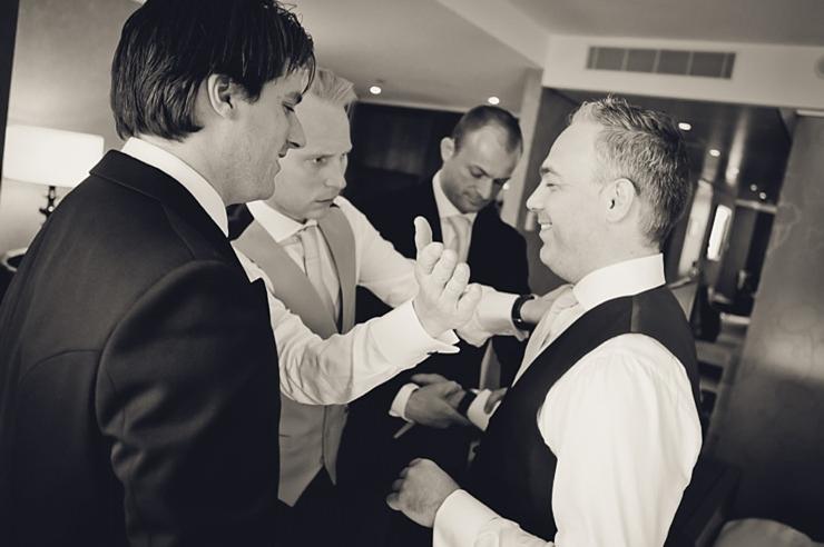 bruidegom voorbereiding bruidsfotografie wassenaar