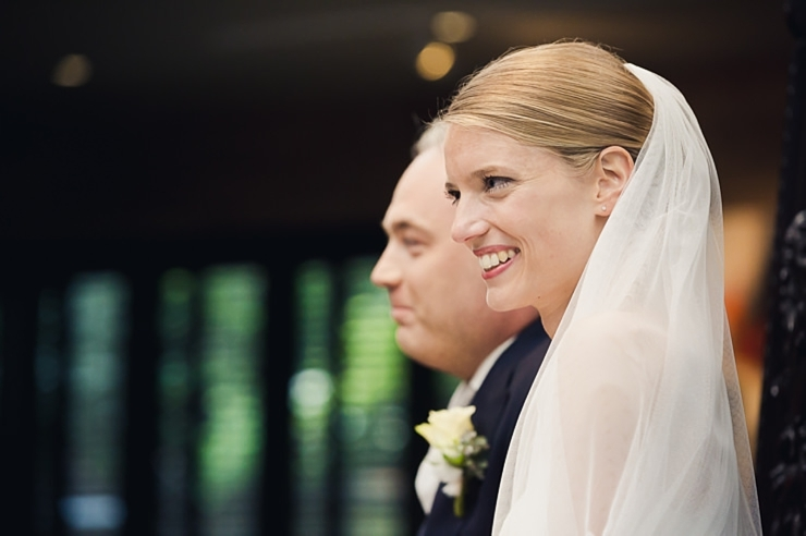 trouwfotograaf wassenaar bruidspaar ceremonie
