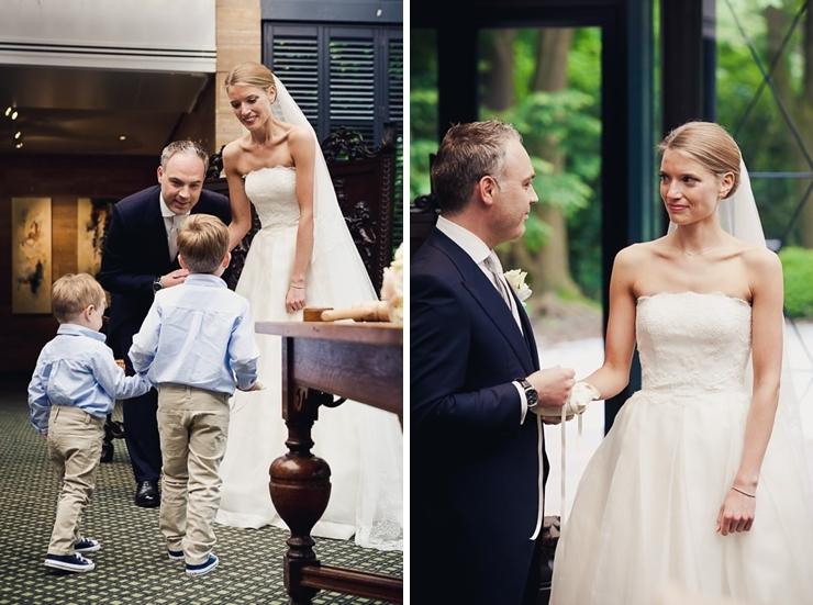 ringen bruidspaar bruidsfotograaf wassenaar