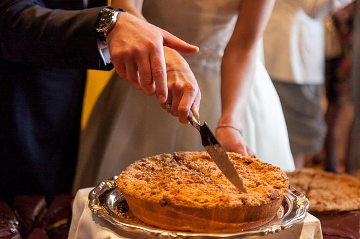 appeltaart bruidsfotografie wassenaar
