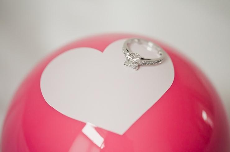 voorbereiding bruid verlovingsring