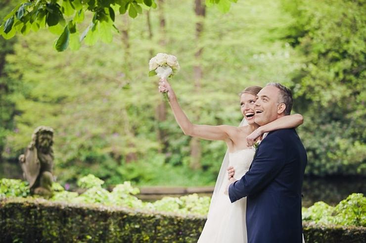 trouwfotograaf wassenaar bruidspaar