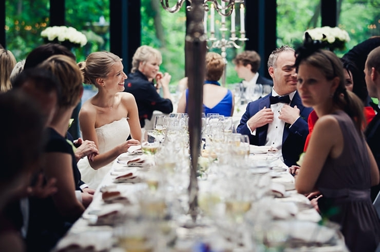 trouwdiner bruidsfotografie wassenaar kasteel de wittenburg
