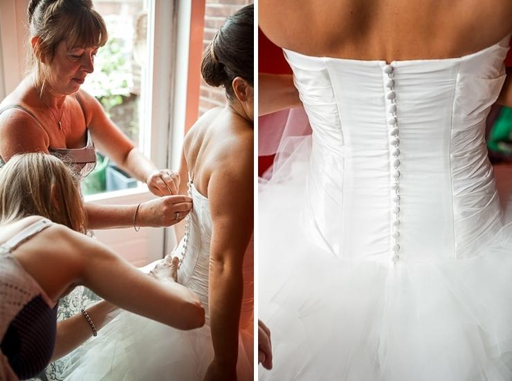 bruidsjurk trouwfotografie