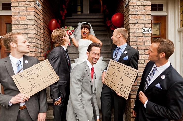 bruidspaar amsterdam