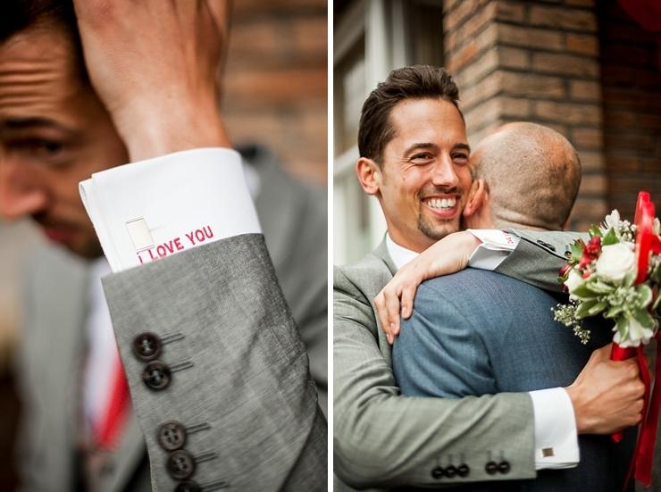 bruidegom trouwfotografie