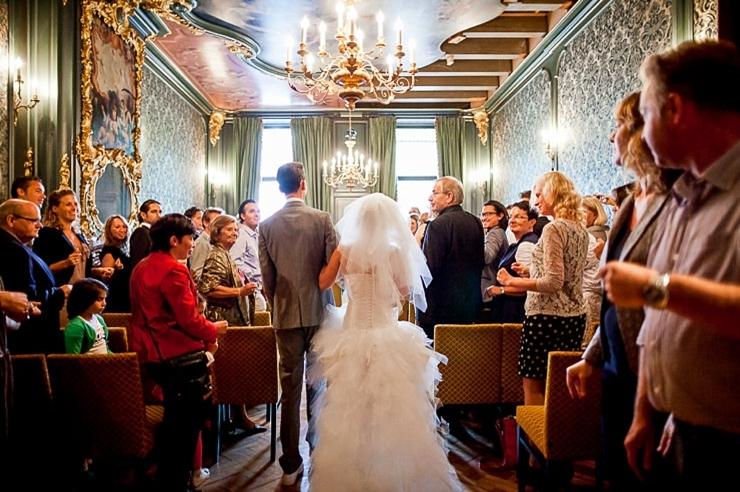 ceremonie amsterdam bruidsfotografie