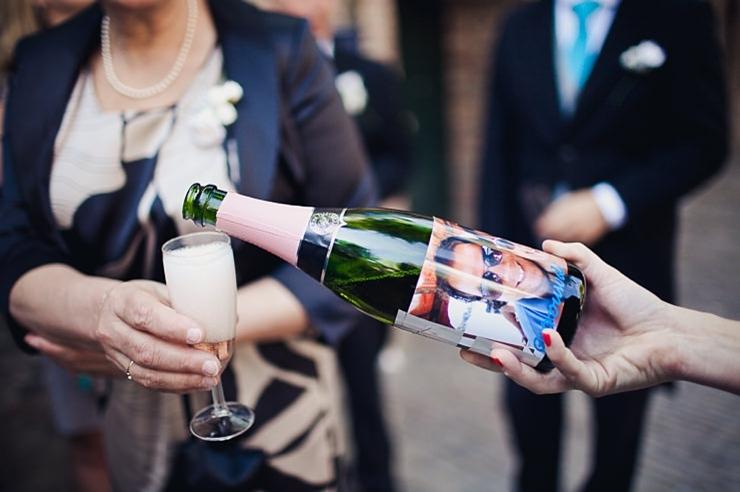 champagne trouwfotografie