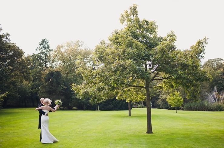 landgoed voorlinden - trouwfotografie wassenaar