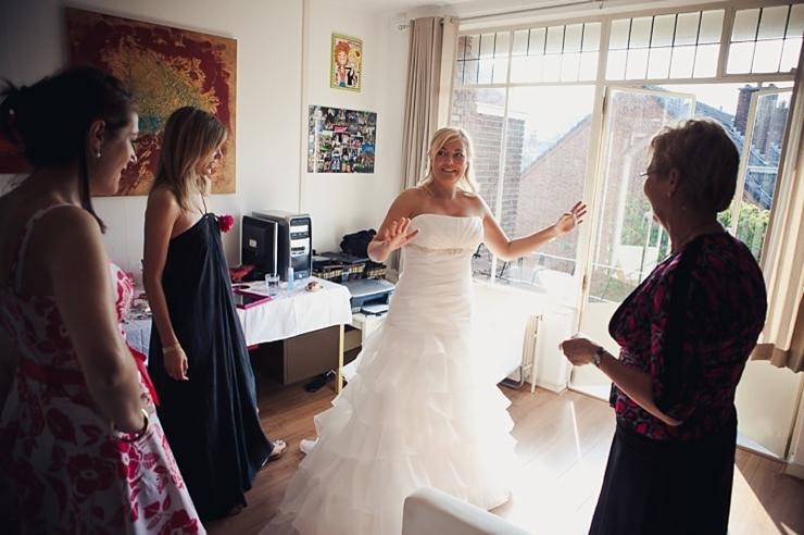 bruid - bruidsfotograaf den haag