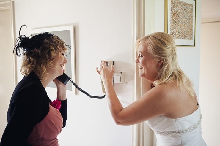 ophalen bruid - bruidsfotograaf den haag