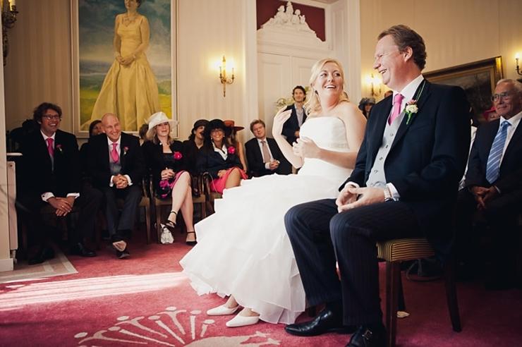 ceremonie de pauw - trouwfotograaf den haag