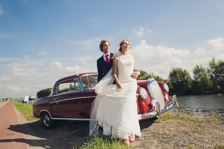 bruidspaar trouwfotografie oegstgeest