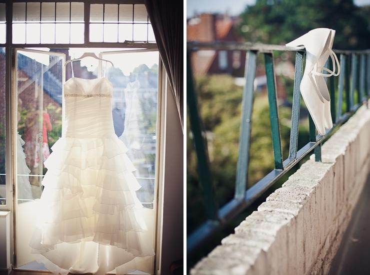 trouwjurk - bruidsfotograaf den haag