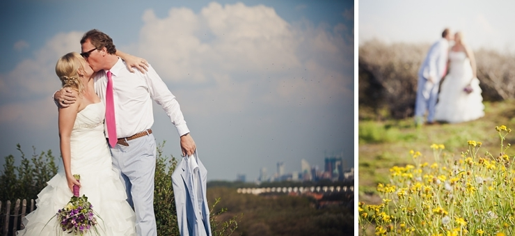 trouwfotograaf den haag bruidspaar