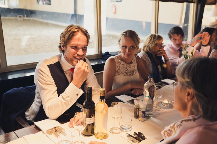trouwdiner trouwfotograaf oegstgeest