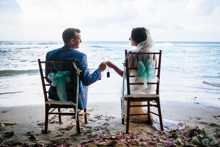 bruidsfotografie Bali - trouwen op het strand