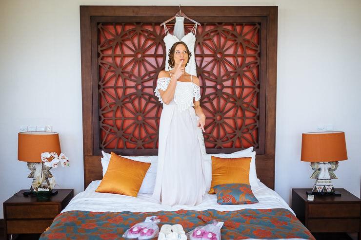 trouwen op bali - bruid voorbereiding