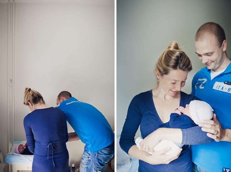 familiefotografie familiefotograaf baby en ouders den haag