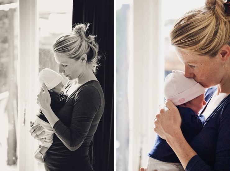 moeder met baby familiefotografie babyfotografie den haag