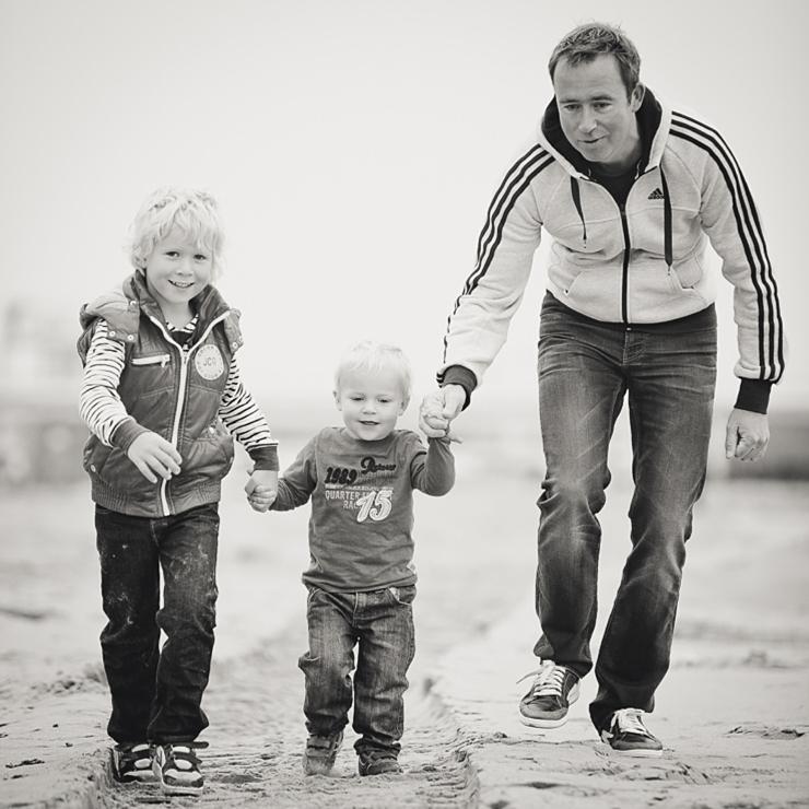familiefotografie scheveningen strand portret