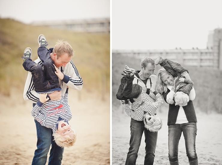 familiefotografie strand scheveningen ouders met kinderen