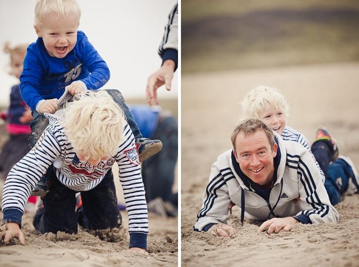 kinderfotograaf familiefotografie portret strand
