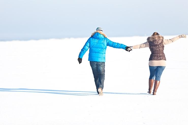 winter sneeuw strand scheveningen fotograaf den haag