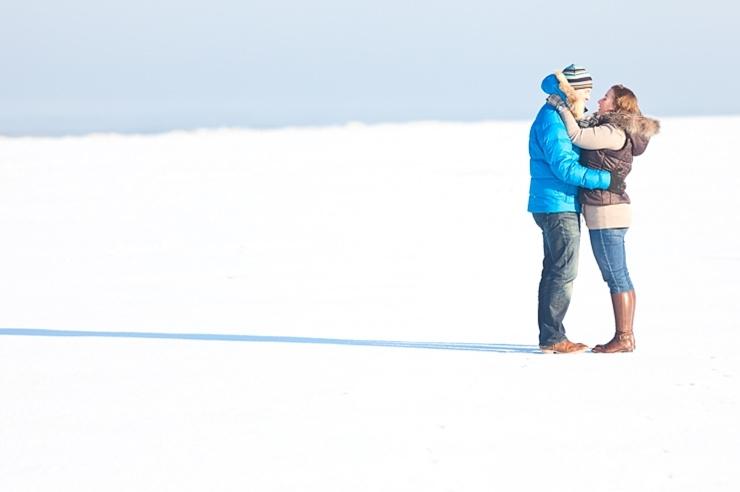winter verloofd fotografie scheveningen sneeuw