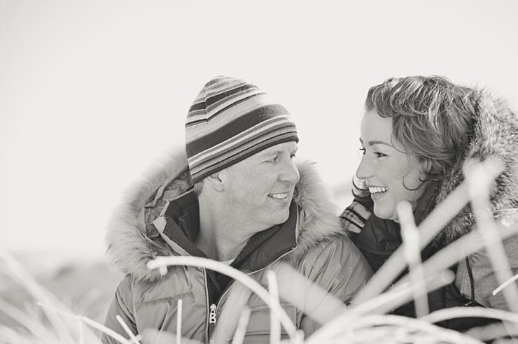 verloofd koppel fotografie loveshoot duinen