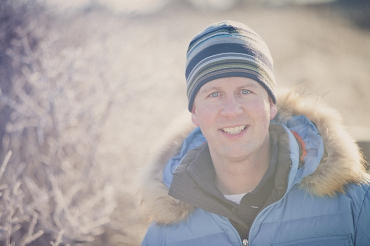 portretfotografie portret scheveningen strand winter