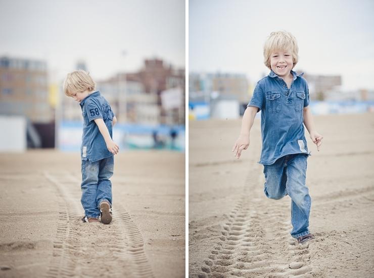 kinderfotografie familieportret scheveningen strand
