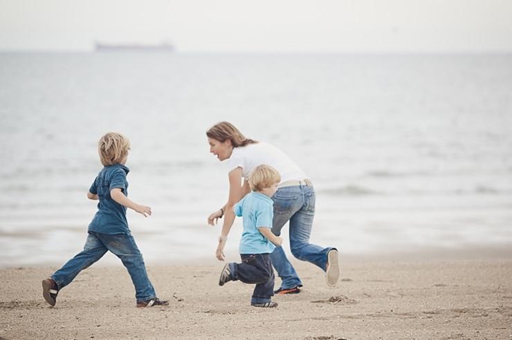 scheveningen strand familieportret familiefotografie