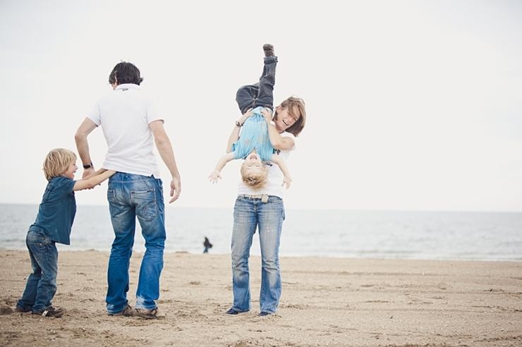 familiefotografie familieportret scheveningen strand