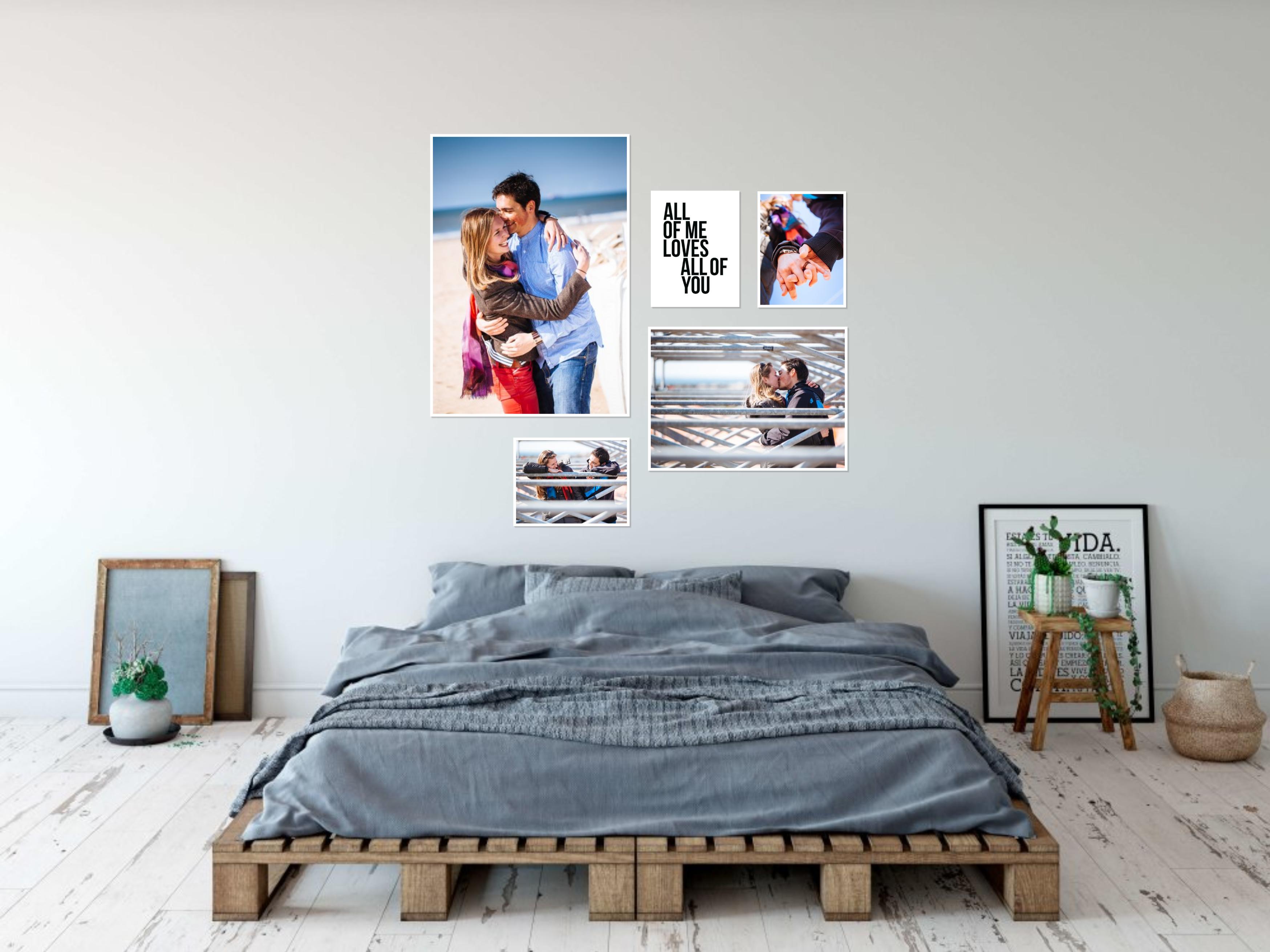 slaapkamer fotomuur