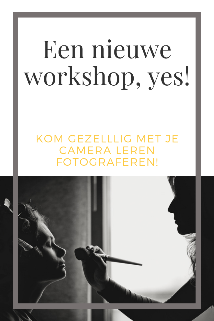 leren fotograferen workshop